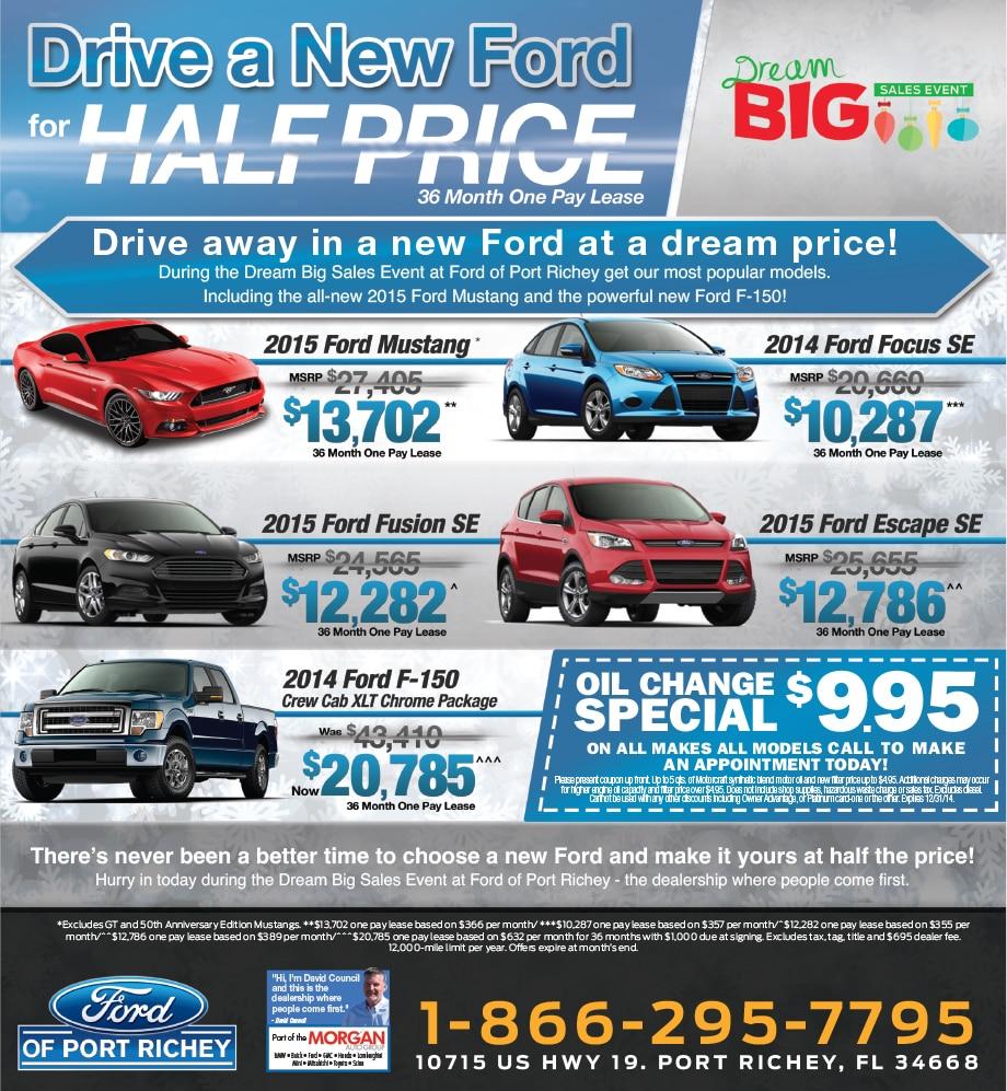 Port Richey Ford Sale