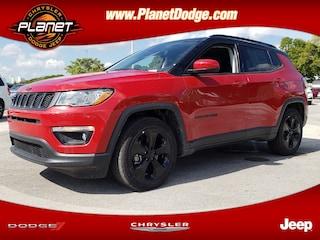 New 2019 Jeep Compass ALTITUDE FWD Sport Utility 3C4NJCBB9KT623822 Miami