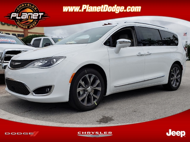 New 2019 Chrysler Pacifica LIMITED Passenger Van for sale in Miami FL