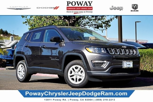 new 2018 Jeep Compass SPORT 4X4 Sport Utility for sale in Poway, CA