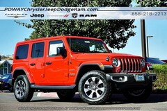 New  2018 Jeep Wrangler UNLIMITED SAHARA 4X4 Sport Utility for sale in Poway, CA