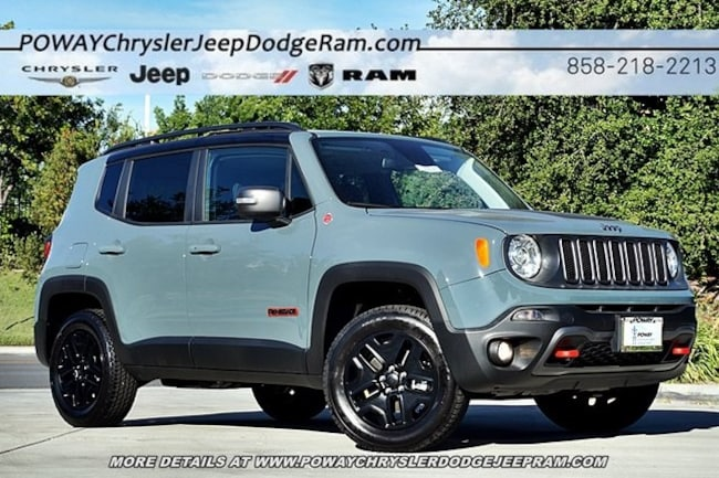 new 2018 jeep renegade trailhawk 4x4 for sale poway ca