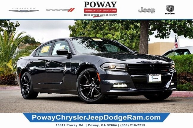 2018 Dodge Charger SXT Plus Sedan for sale in Poway, CA
