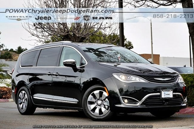 Chrysler For Sale >> New 2018 Chrysler Pacifica Hybrid Limited For Sale Poway Ca
