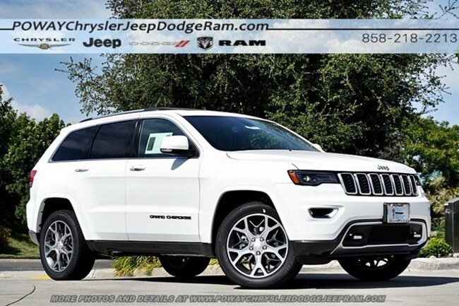 new 2018 Jeep Grand Cherokee LIMITED STERLING EDITION 4X2 Sport Utility for sale in Poway, CA