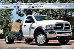 New  2017 Ram 4500 TRADESMAN CHASSIS REGULAR CAB 4X2 168.5 WB Regular Cab for sale in Poway, CA