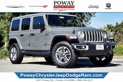 New  2019 Jeep Wrangler UNLIMITED SAHARA 4X4 Sport Utility for sale in Poway, CA