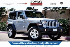 New  2019 Jeep Wrangler SPORT S 4X4 Sport Utility for sale in Poway, CA