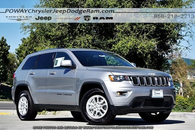 new 2018 Jeep Grand Cherokee LAREDO E 4X2 Sport Utility for sale in Poway, CA