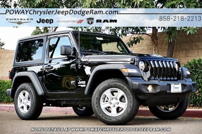 Jeep Wrangler Sport For Sale >> New 2018 Jeep Wrangler Sport S 4x4 For Sale Poway Ca