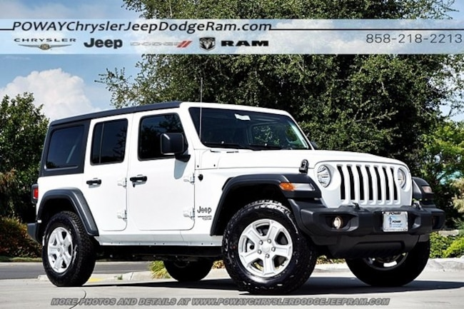 new 2018 Jeep Wrangler UNLIMITED SPORT S 4X4 Sport Utility for sale in Poway, CA