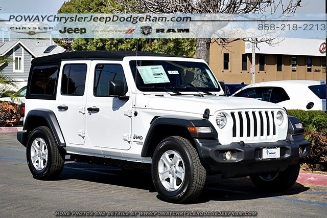 Superb Comments: Bright White Clearcoat 2018 Jeep Wrangler Unlimited Sport S 4WD  8 Speed Automatic 3.6L 6 Cylinder ABS Brakes, Compass, Electronic Stability  ...