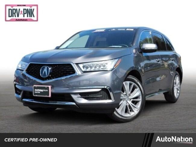 2018 Acura MDX w/Technology Pkg SUV