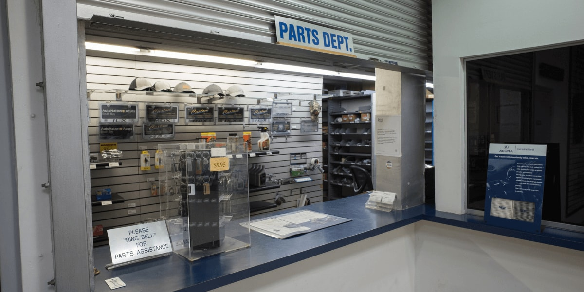 AutoNation Acura South Bay parts department
