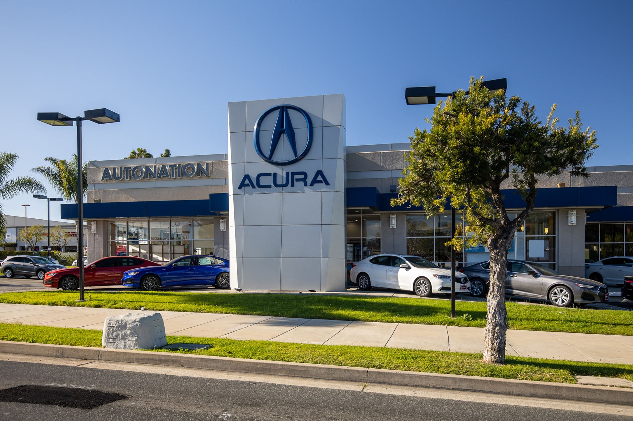 Exterior view of Acura South Bay