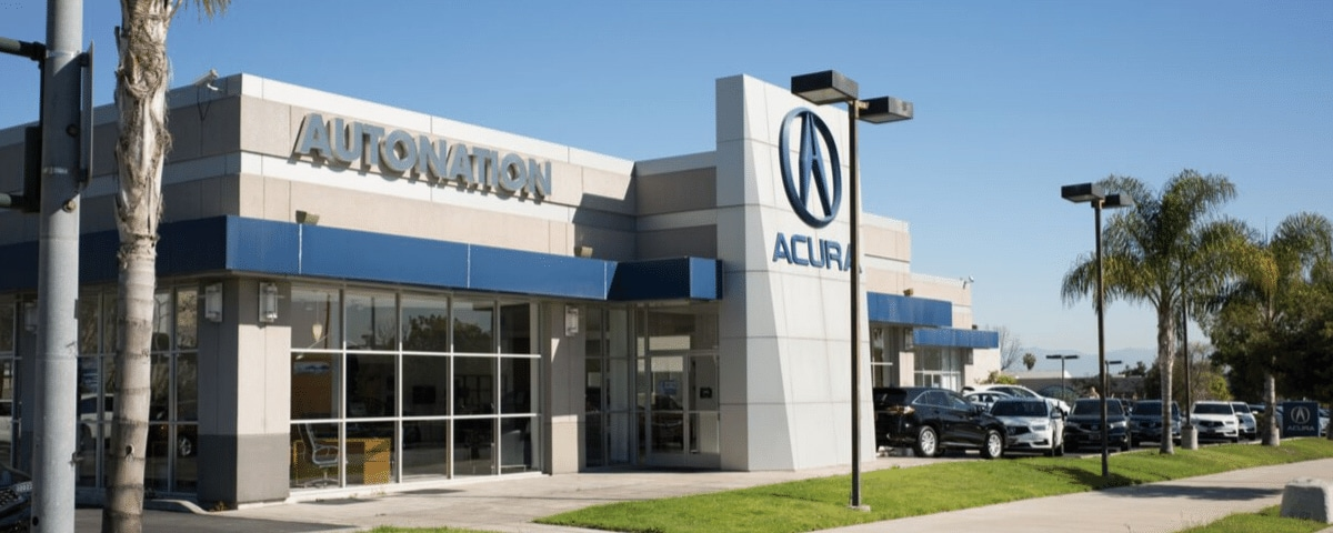 Exterior view of AutoNation Acura South Bay