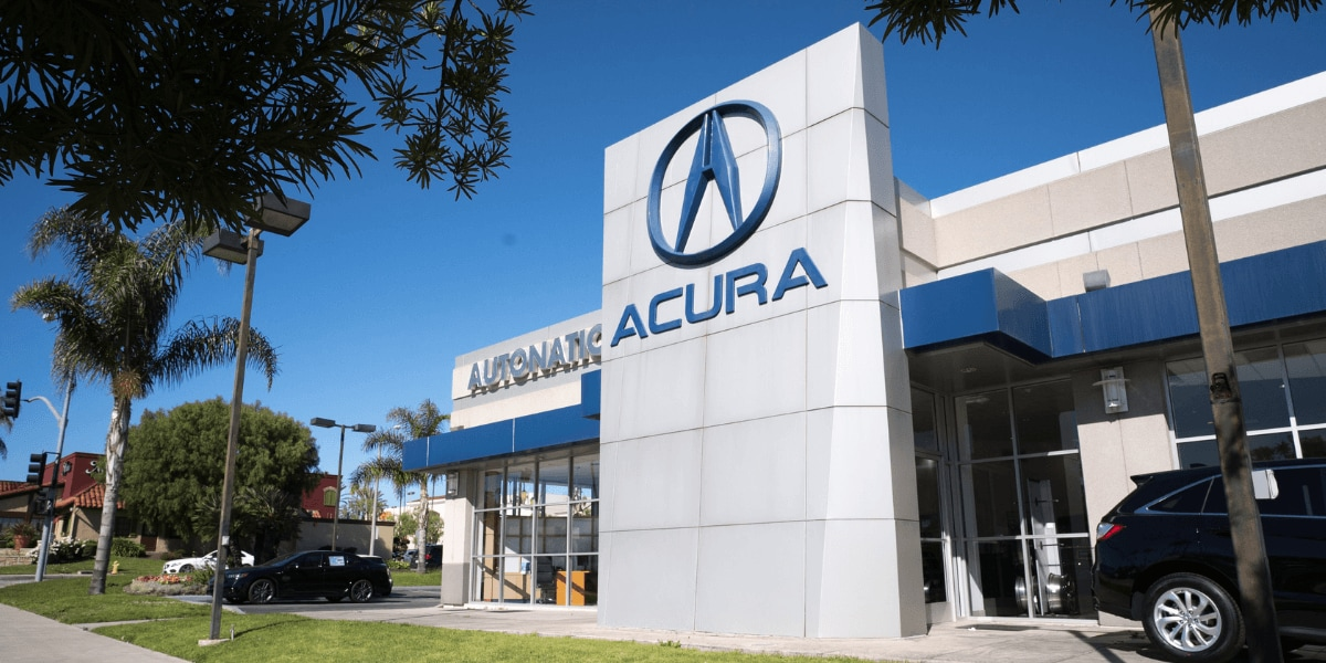 Outside view of AutoNation Acura South Bay