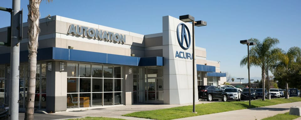 Vista exterior de AutoNation Acura South Bay