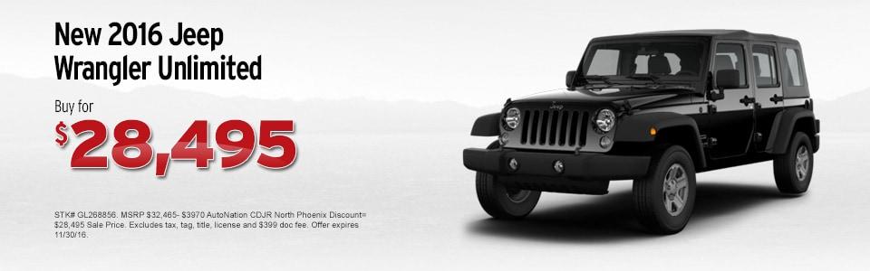 Autonation North Phoenix >> Chrysler Dodge Jeep RAM Dealership Near Me Phoenix, AZ ...