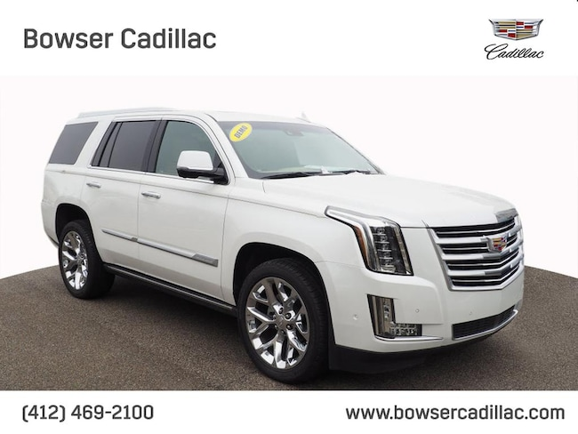New 2018 CADILLAC Escalade Platinum SUV Pittsburgh, PA