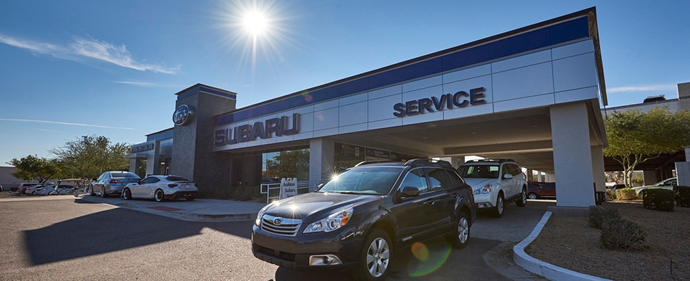 AutoNation Subaru Scottsdale Service Center Exterior