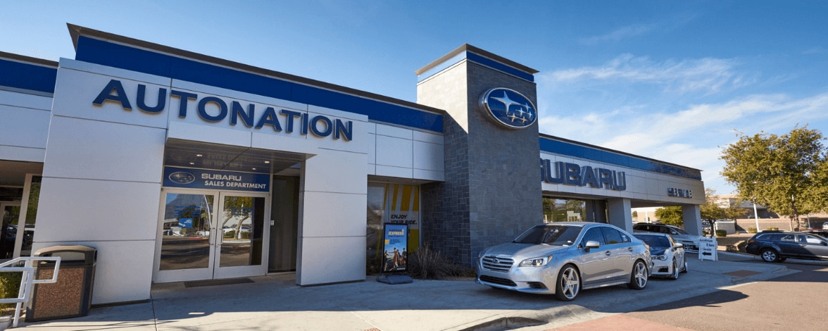 Exterior view of AutoNation Subaru Scottsdale