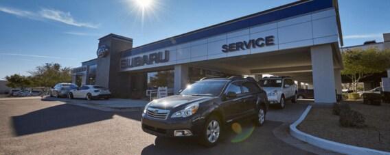 Auto Nation Subaru >> Subaru Service Center In Scottsdale Az Autonation Subaru