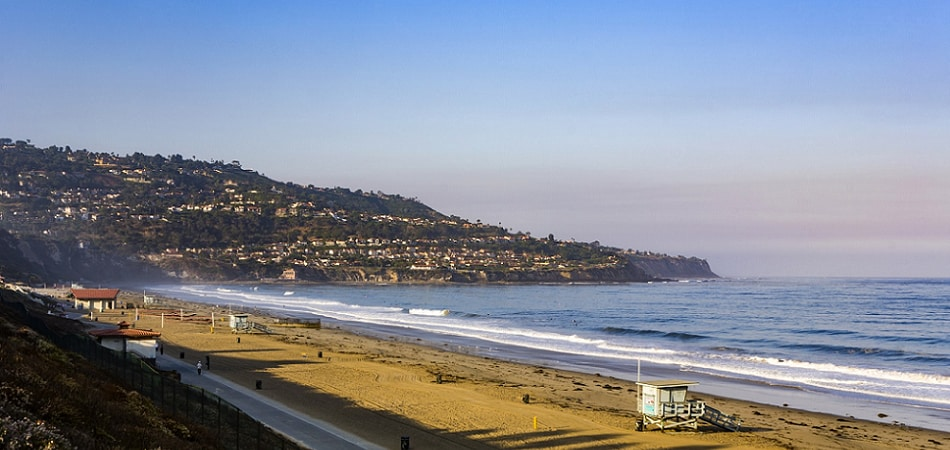 Scenic view of Redondo Beach, CA