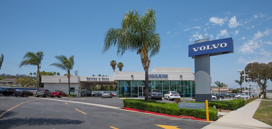 Exterior view of Volvo Cars South Bay Serving Long Beach