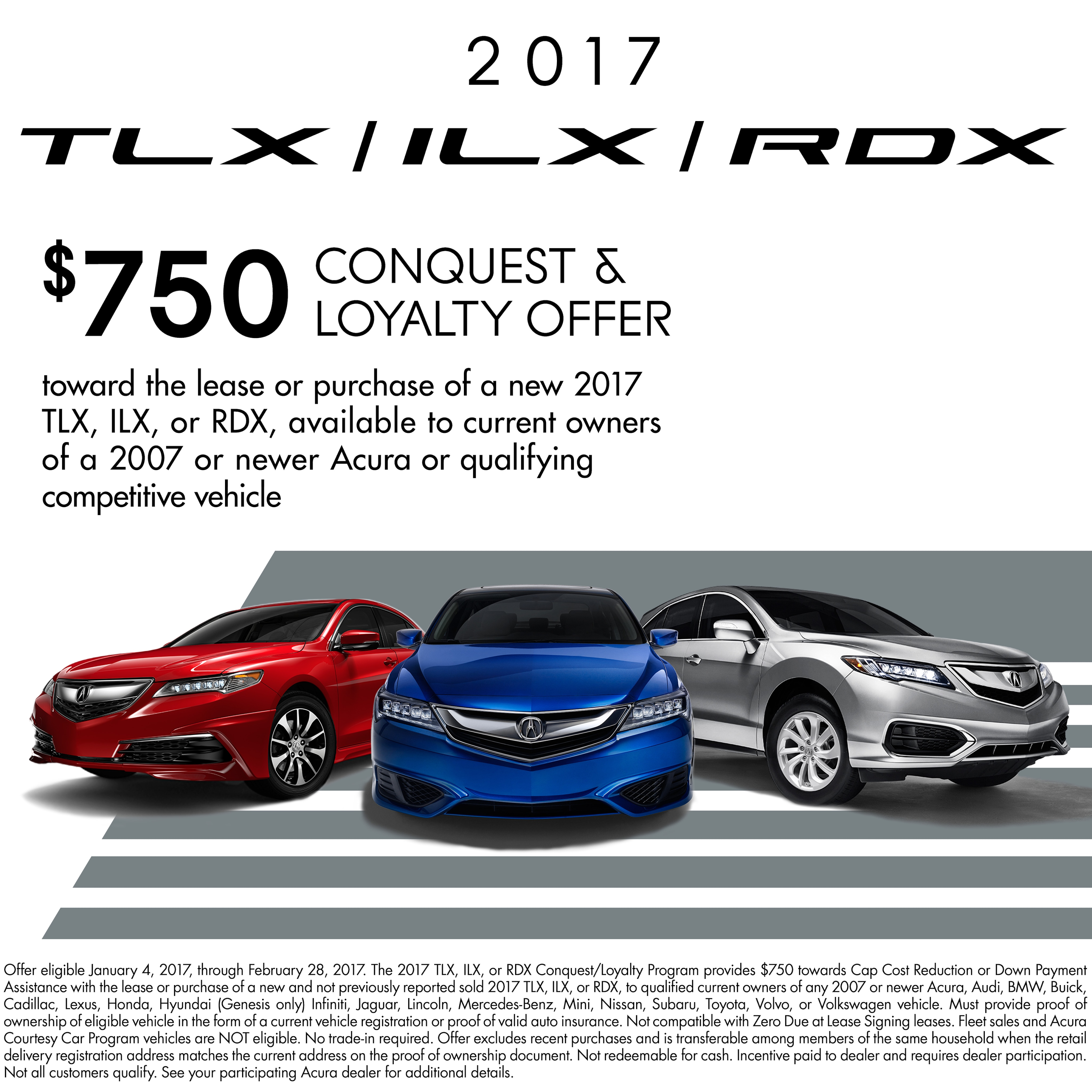2017 Loyalty And Conquest Programs