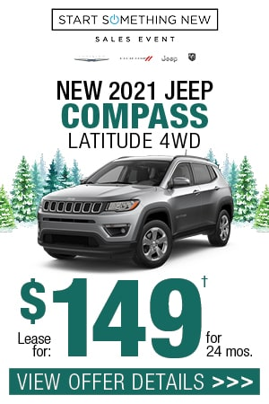New 2021 Jeep Compass Latitude 4WD