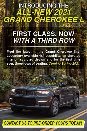 INTRODUCING THE ALL-NEW 2021 GRAND CHEROKEE L