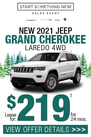 New 2021 Jeep Grand Cherokee Laredo 4WD