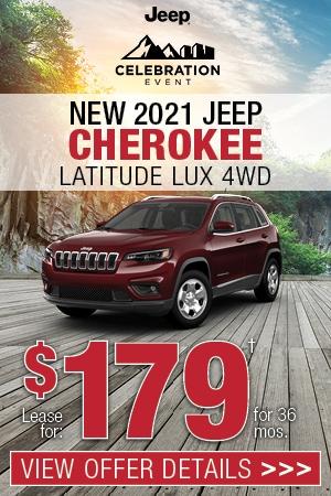 New 2021 Jeep Cherokee Latitude Lux 4WD