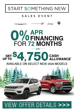 0% APR Financing for up to 72 Months^ OR Get up to $4,750 Cash Allowance*