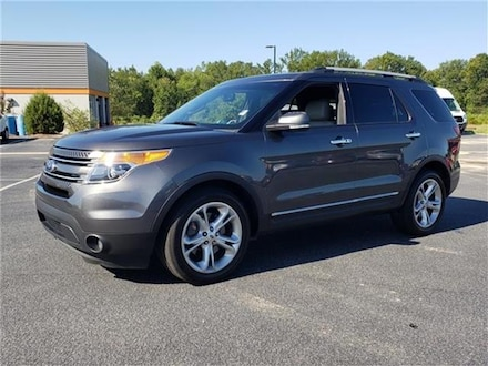 2015 Ford Explorer Limited Front-wheel Drive SUV