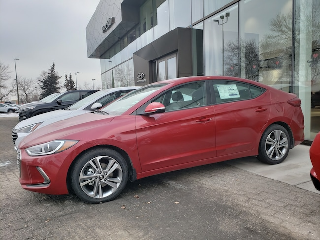 2018 Hyundai Elantra Last Remaining GLS Sedan