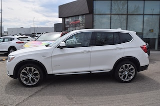 2017 BMW X3 xDRIVE 2.8i w/ NAVI / PANORAMIC ROOF SUV