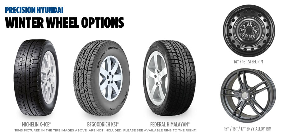 hyundai winter tires packages precision hyundai calgary