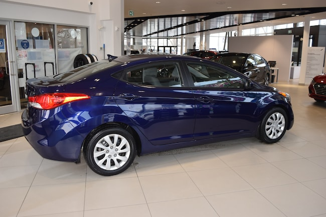 2013 Hyundai Elantra GL w/ LOW KMS / 6 SPEED Sedan