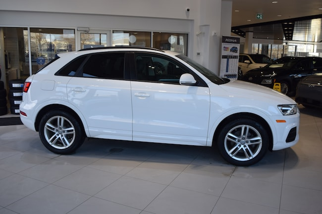 2016 Audi Q3 QUATTRO w/ LEATHER / PANORAMIC ROOF / LOW KMS SUV