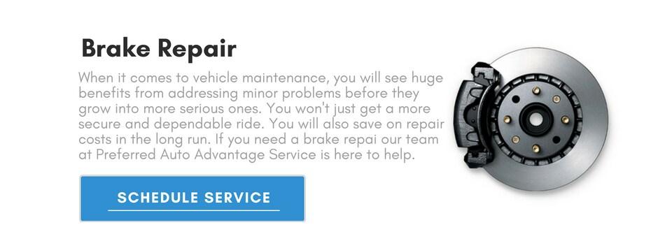 Brake Service Near Me >> Car Brake Service Near Me Preferred Auto Advantage