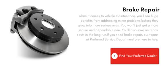 Car Break Service Near Me | Preferred Auto Dealerships