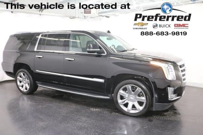 Used 2018 CADILLAC Escalade ESV Luxury SUV in Muskegon, MI
