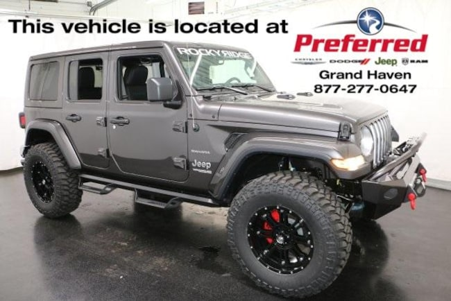 New 2018 Jeep Wrangler UNLIMITED SAHARA 4X4 Sport Utility Grand Haven
