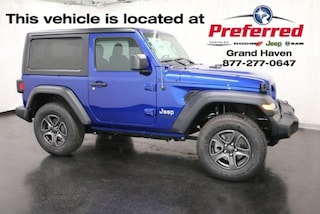New 2018 Jeep Wrangler SPORT S 4X4 Sport Utility for sale in Grand Haven MI