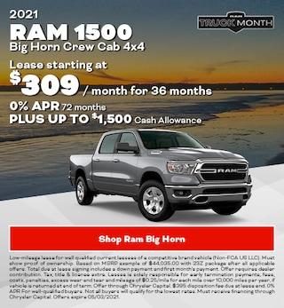 2021 Ram 1500 Big Horn Crew Cab 4x4