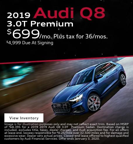 2019 Audi Q8 3.0T Premium