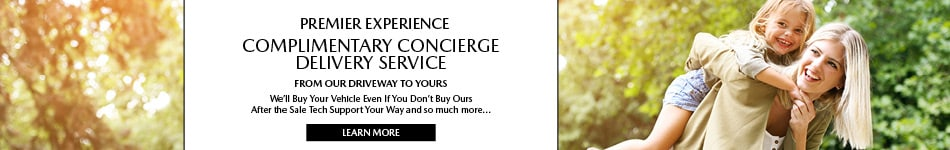 Complimentary Concierge Delivery Service