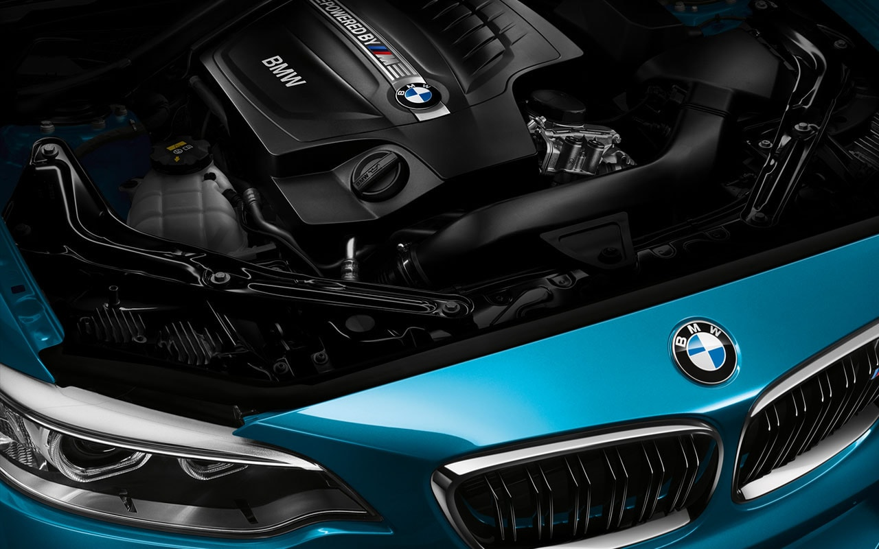 BMW M2 Engine Compartment